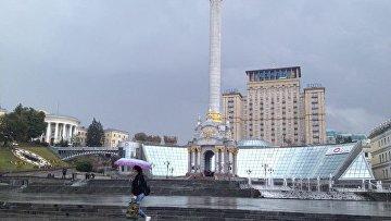 Пустой Майдан. В центре Киева проходит митинг с требованием политреформы