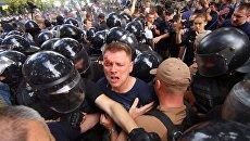 Ситуация под Одесским горсоветом.