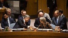 Петр Порошенко и Тереза Мэй на Генассамблее ООН