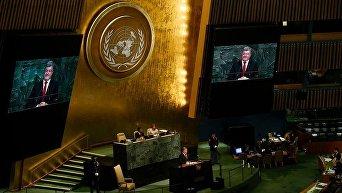 Петр Порошенко на 72-ой Генеральной ассамблее ООН