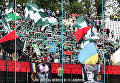 Болельщики львовского ФК Карпаты, архивное фото