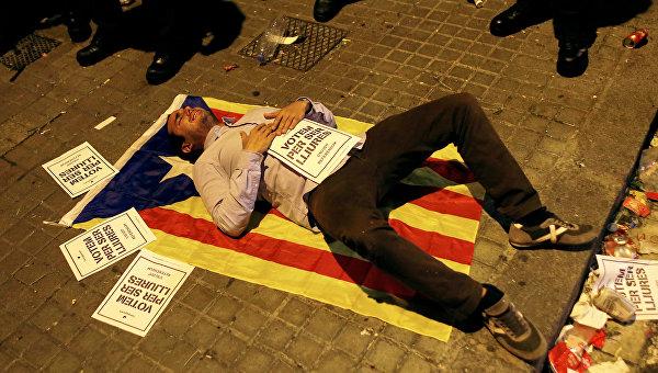 ВКаталонии сообщили, что проведут мирный референдум онезависимости