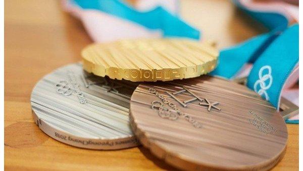 В Южной Корее представили дизайн медалей для зимней Олимпиады