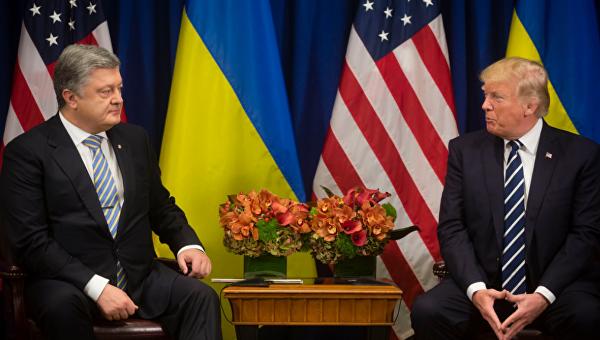 Переговоры Порошенко и Трампа