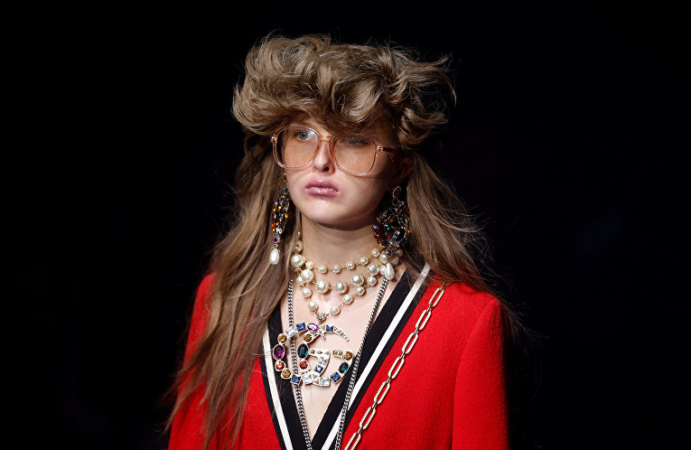 Неделя моды в Милане. Показ Gucci