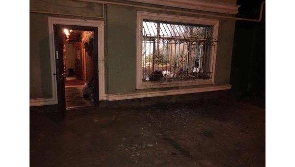 В окно частного дома в Одессе бросили гранату
