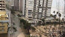 Последствия урагана Мария и порыва дамбы в Пуэрто-Рико