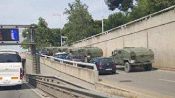В сетях появилось фейковое видео военной техники, направляемой в Каталонию