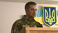 Военный прокурор сил АТО Олег Цицак