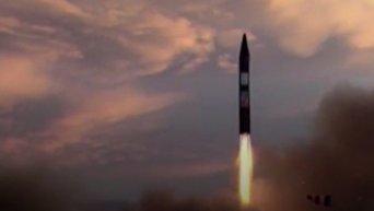 Пуск баллистической ракеты Ирана. Видео