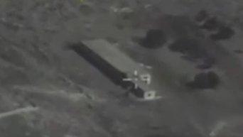 Пуск крылатых ракет Калибр по объектам Джебхат-ан-Нусра в Сирии. Видео