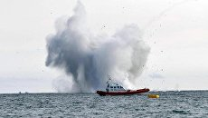 На авиашоу в Италии разбился истребитель, пилот погиб