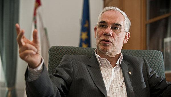 Глава Министерства человеческих ресурсов Венгрии Золтан Балог