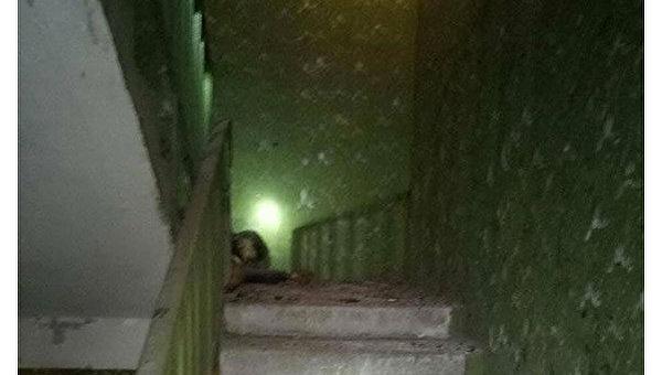 Взрыв гранаты в жилом доме Харькова, в результате погиб мужчина