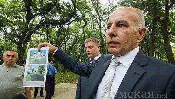 Председатель правления ПАО Одессаоблэнерго Иван Полывяный, май-2013