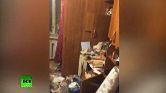 Квартира семьи каннибалов в России. Видео
