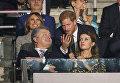 Принц Гарри, Президент Украины Петр Порошенко, первая леди Марина Порошенко во время церемоний открытия Игр непокоренных в Торонто, Онтарио, 23 сентября 2017 года