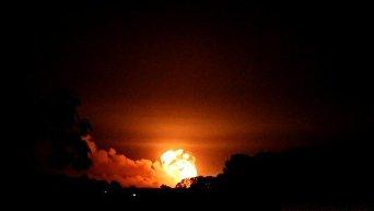 Взрывы на складе боеприпасов в Калиновке под Винницей