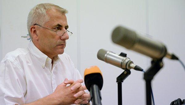 Глава представительства Евросоюза в России В. Ушацкас. Архивное фото