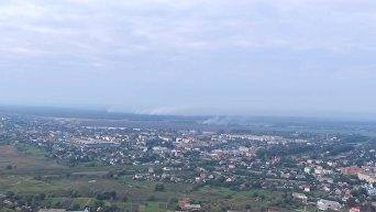 Утренние взрывы в Калиновке