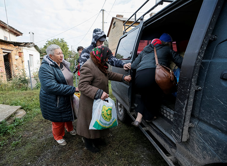 Пожар и взрывы на арсенале в Калиновке. Эвакуация населения