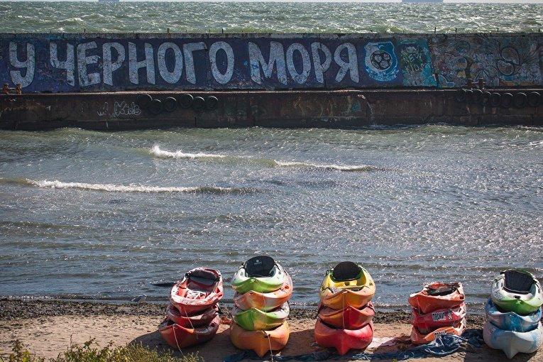 Шторм в Одессе