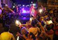 Акции в поддержку референдума в Каталонии