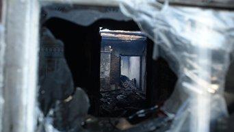 Последствия взрывов боеприпасов на военном складе в Винницкой области. Калиновка