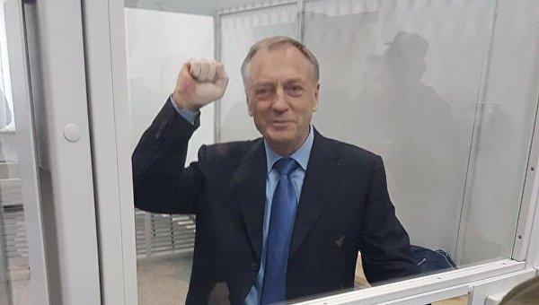 Александр Лавринович в зале суда, 27 сентября 2017