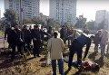 Конфликт на улице Ревуцкого в Киеве