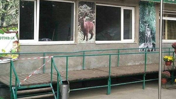 Обезьяны оторвали ухо инесколько пальцев работнику зоопарка под Харьковом