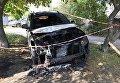 В Житомирской области сожгли авто депутата облсовета