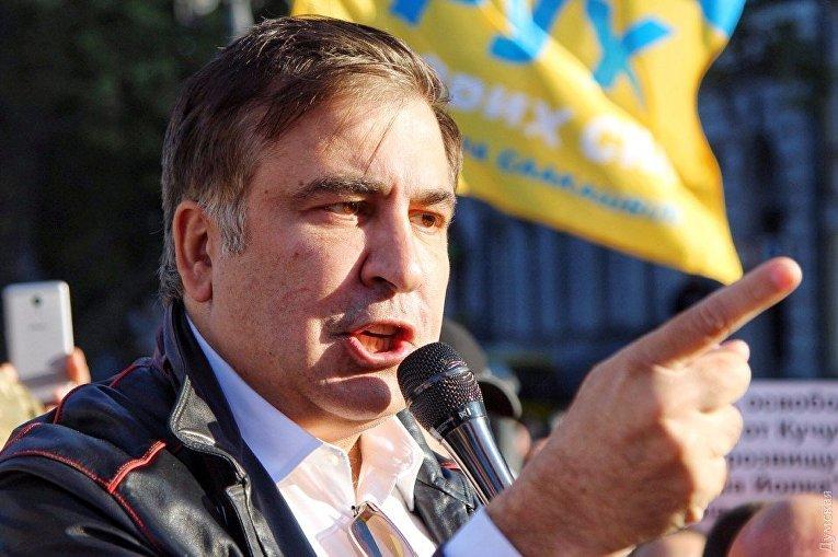 Михаил Саакашвили в Одессе, 30 сентября 2017