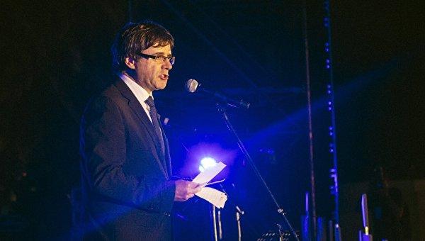 Председатель Женералитета (правительства Каталонии) Карлес Пучдемон