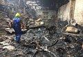 Под Киевом загорелось предприятие