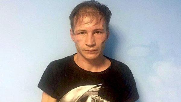 Подозреваемый в каннибализме Дмитрий Бакшеев