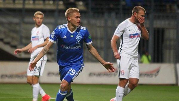 Матч киевского Динамо с луганской Зарей