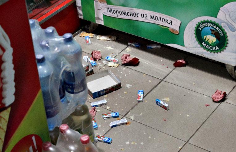 Пьяные еноты сорвали цирковое выступление вгосударстве Украина