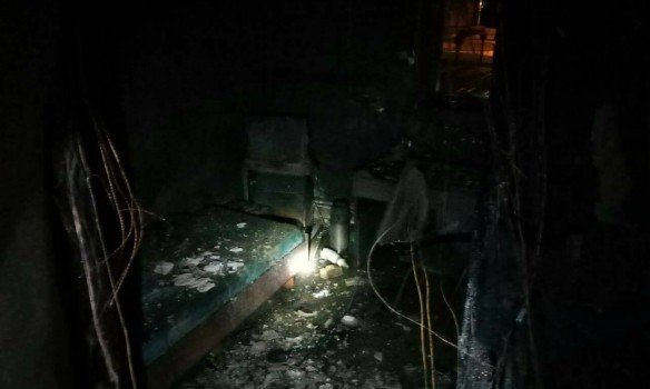 Пожар в запорожском хостеле