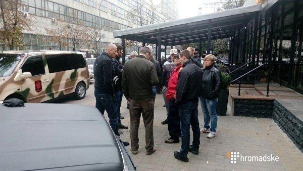 Стрельба возле Печерского суда в Киеве
