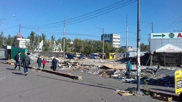 Снос МАФов в Киеве
