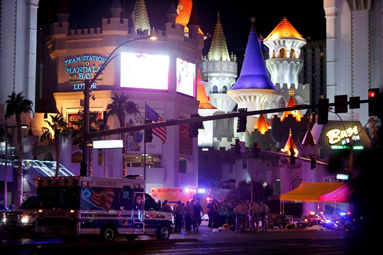Стрельба на концерте в Лас-Вегасе