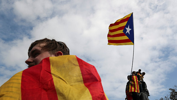 Митинги в Каталонии