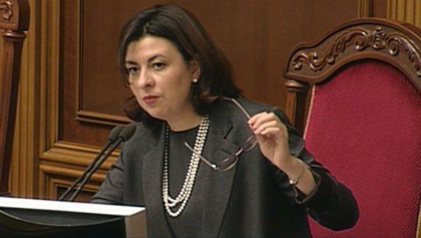 Скандал вРаде: вице-спикер «наказала» русскоговорящего народного депутата