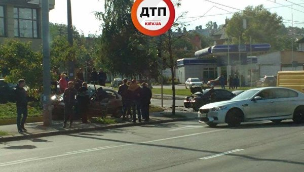 ВКиеве в итоге ДТП умер один человек