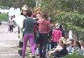 Во Львове в помещении детского сада вспыхнул пожар. Видео