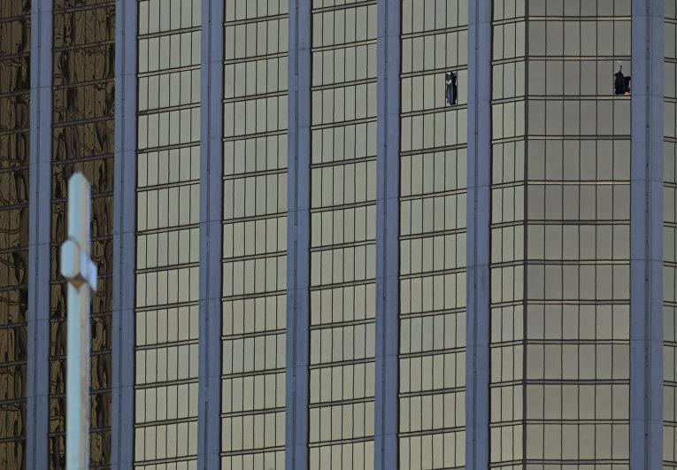 Фото гостиничного номера стрелка из Лас-Вегаса