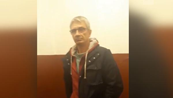 Корреспондент телепрограммы Центральное телевидение Вячеслав Немышев на допросе в СБУ