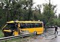 Смертельное ДТП под Киевом, погиб боец Нацгвардии