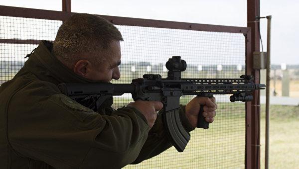 Вгосударстве Украина презентовали собранный постандартам НАТО автоматический карабин